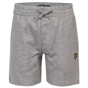 Lyle & Scott - Boys Classic Sweat Short Vintage Grey Heather  - WHIZZKID.COM