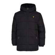Lyle & Scott - Boys Down Puffa Coat True Black - WHIZZKID.COM