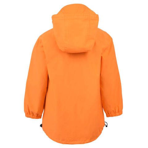 Boy's Lyle & Scott Pull Over Anorak Orange Peel