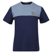 Boy's Lyle & Scott Yoke T-Shirt Navy