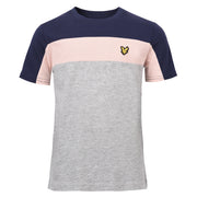 Boy's Lyle & Scott Cut And Sew T-Shirt Vintage Grey Heather