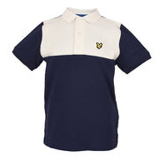 Boy's Lyle & Scott Yoke Polo Shirt Navy