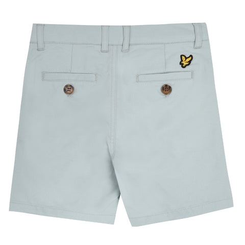 Boy's Lyle & Scott Light Weight Twill Short Powder Blue
