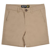 Boy's Lyle & Scott Light Weight Twill Short Light Stone