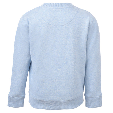 Boy's Lyle & Scott Heatseal Sweatshirt Powder Blue Marl