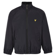 Boy's Lyle & Scott Zip Through Funnel Neck Jacket Black