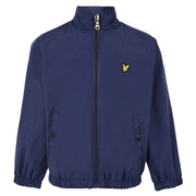 Boy's Lyle & Scott Zip Through Funnel Neck Jacket Navy