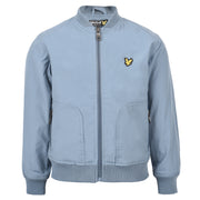 Boy's Lyle & Scott Lightly Wadded Bomber Mist Blue