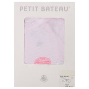Petit Bateau - Girls Pink long sleeve body - WHIZZKID.COM