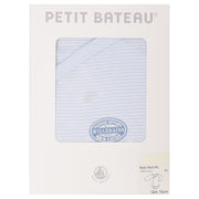 Petit Bateau - Boys Blue long sleeve body - WHIZZKID.COM