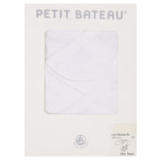 Petit Bateau - Unisex White long sleeve body - 2 pack - WHIZZKID.COM