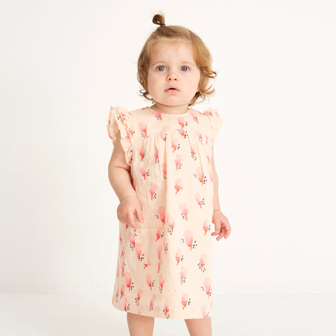 Girl's Soft Gallery Bebe All Over Print Dress