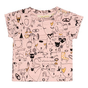 Girl's Soft Gallery Nelly All Over Print T-shirt