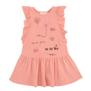 Girl's Soft Gallery Alberte 'Hey Love' Dress