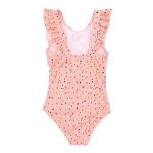 Girl's Soft Gallery Ana Shimmery Swimsuit