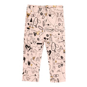 Girl's Soft Gallery Paula All Over Print Cutie Leggings