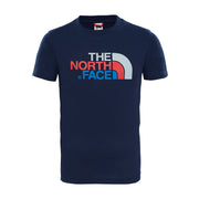 Boy's The North Face Short Sleeve Blue Easy Tee
