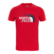 Boy's The North Face Short Sleeve Red Easy Tee