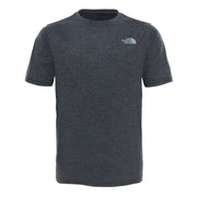 Boy's The North Face Grey Short Sleeve Reaxion Tee