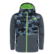 Boy's The North Face Grey Thermoball Canyonlands Hooded