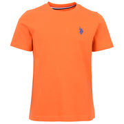 Core Jersey T-Shirt In Orange