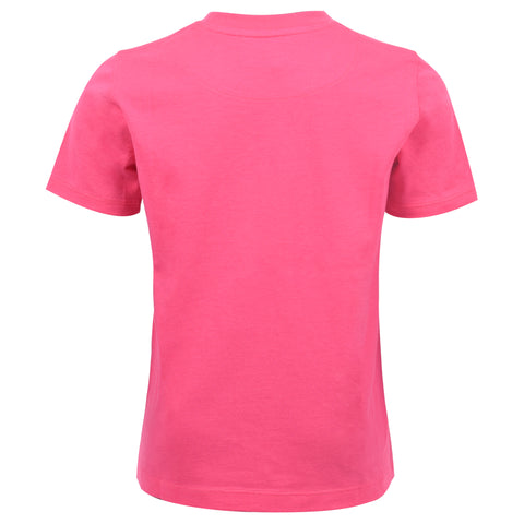 Core Jersey T-Shirt In Magenta
