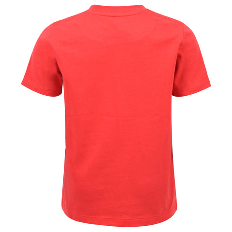 Core Jersey T-Shirt In True Red