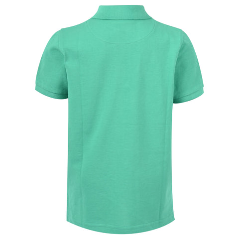 Core Pique Polo In Kelly Green