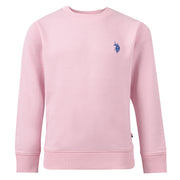 Core F/T Crew Sweat In Soft Pink