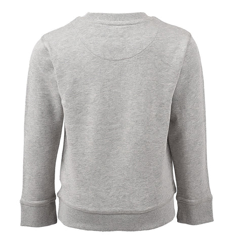 Core F/T Crew Sweat In Vintage Grey Heather