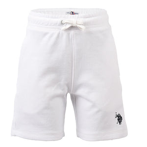 Core F/T Sweat Short In Bright White