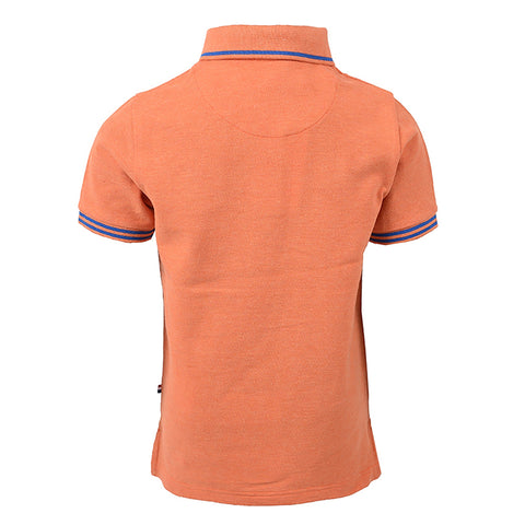 Mid DHM Marl Polo Orange Marl