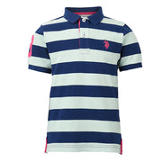 Y/D Stripe Polo Mint