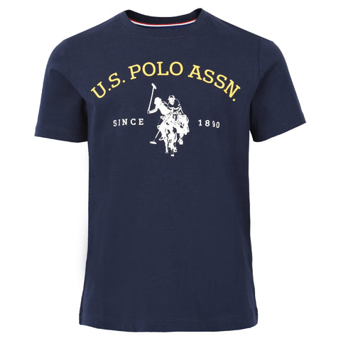 Core Pique Polo In Navy