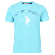 USPA Graphic T-Shirt Aqua