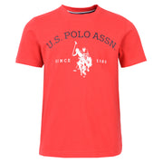 USPA Graphic T-Shirt True Red