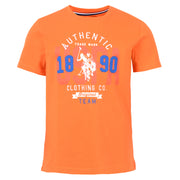 Authentic  Tee Orange