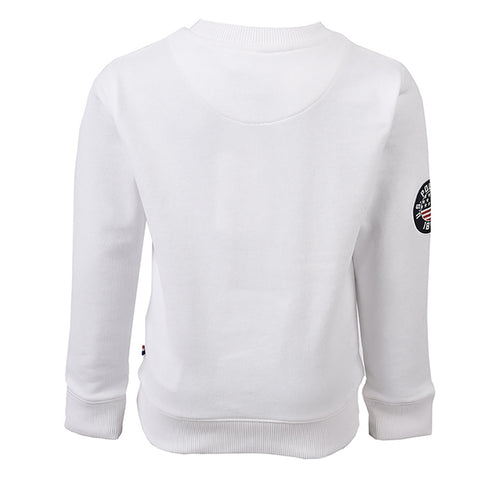 Applique F/T Sweat Bright White