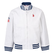 Bomber Jacket Bright White