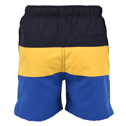 Cut & Sew Swim Short Navy