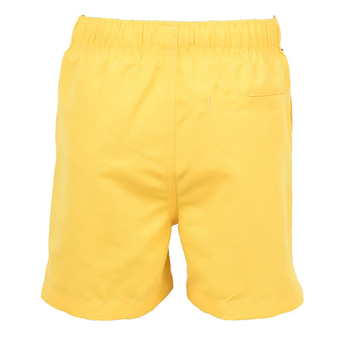 Text Swim Short Buttercup