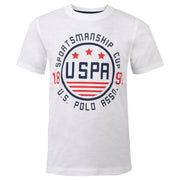 Sportsmanship Cup Tee Bright White