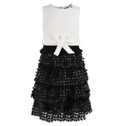 Girl's Relish Black/Cream Dress