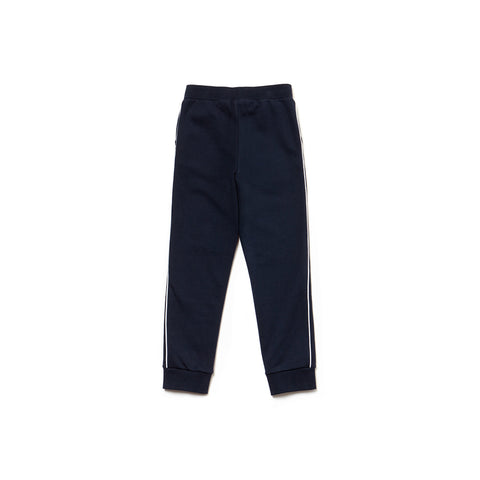 Unisex Lacoste Navy Tracksuit Bottoms