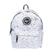 Unisex Hype Speckle Backpack White/Black