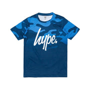 Boy's Hype Kids T-Shirt Navy