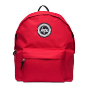 Unisex Hype Badge Backpack Red