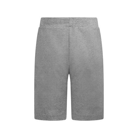 Boy's Lanvin Multi Square Logo Grey Shorts