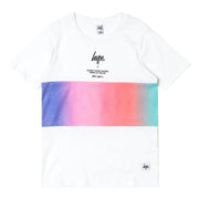 Unisex Hype White Kids T-Shirt
