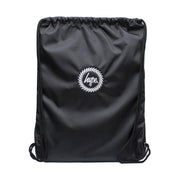 Unisex Hype Drawstring Bag Black